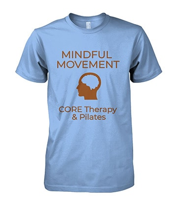 CORE Therapy and Pilates t-shirt